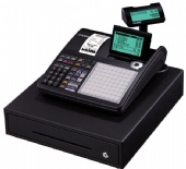 Cash Register Till Casio Large LCD Swivel Display w/ Thermal Printer & Keyboard