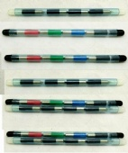 NEW Set 4 pens (color or black) for plotter Sharp (EA-850C, EA-852C, EA-850B), Casio (BP-1, BP-2), Canon, Commodore, Atari and others.