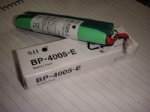 SII BP-4005-E Battery Pack